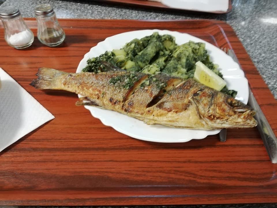 ザグレブの魚