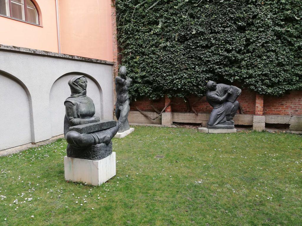 彫刻家メシュトロヴィッチのアトリエ(ザグレブ)